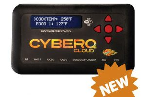 BBQ Guru CyberQ Cloud Automatic Smoker Temperature Controller - Perfect Weber Smokey Mountain Temperature Controller