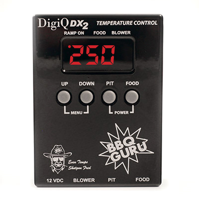BBQ Guru DigiQ DX2 Automatic Smoker Temperature Controller