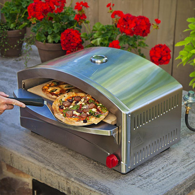 Camp Chef Italia Artisan Pizza Oven - one of the best pizza ovens available today