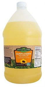 Healthy Harvest Sunflower Oil - The Second Best Oil for Deep Frying