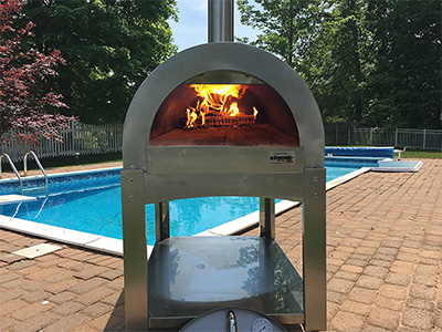 ilFornino Basic Wood-Fired Outdoor Pizza Oven - one of the best pizza ovens available today