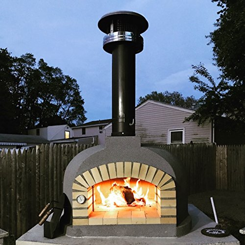PCR Ceramica Outdoor Wood-Fired Pizza Oven - one of the best pizza ovens available today