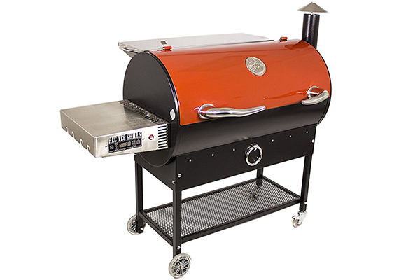 REC TEC Wood Pellet Smoker - One of the best pellet smokers