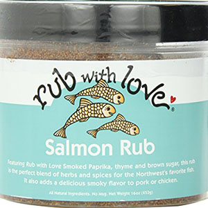Rub with Love Salmon Rub