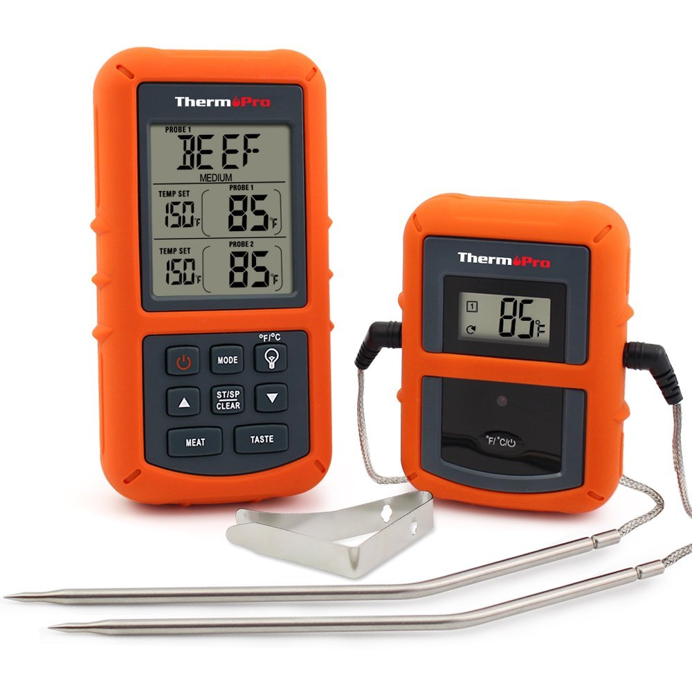 ThermoPro TP-20 Wireless Meat Thermometer BBQ Accessory - Smoking Times and Temperatures