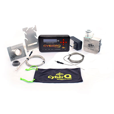 CyberQ Cloud Kit with Pit Viper Fan for Big Green Egg