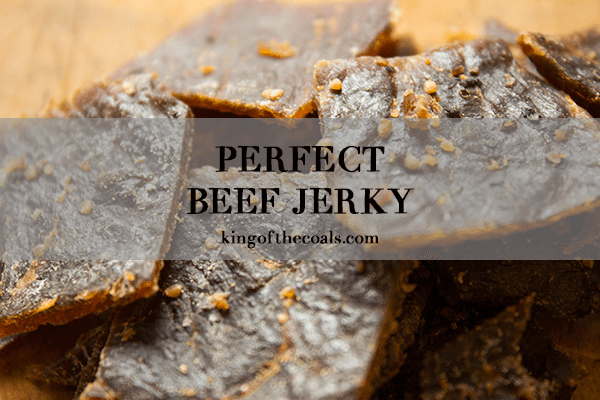 How to Smoke Jerky - Perfect Beef Jerky Recipe