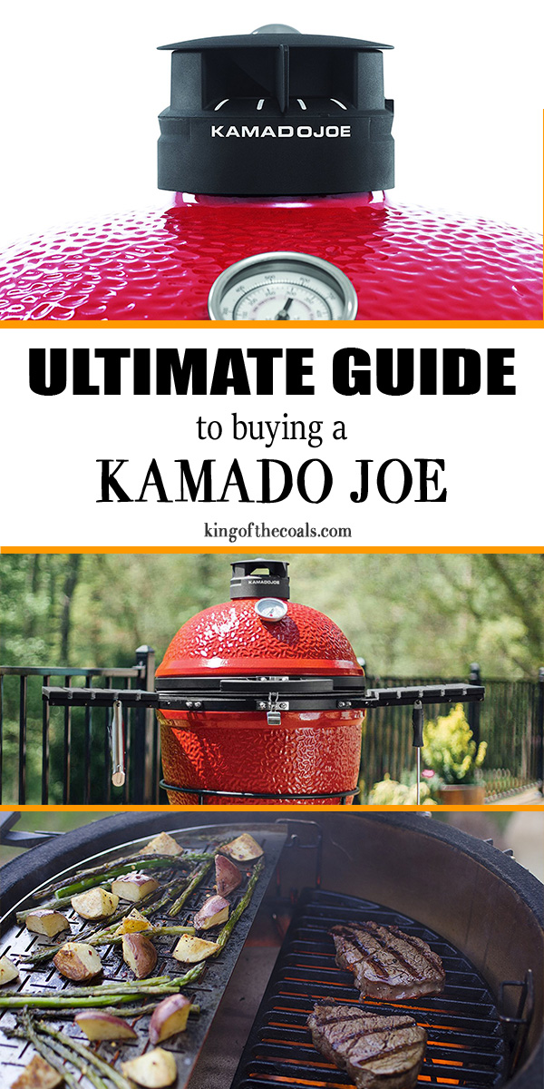 Kamado Joe Buying Guide Infographic