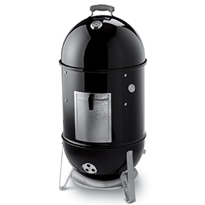 "Weber Smokey Mountain 18"" Bullet Charcoal Smoker - Best Charcoal Smoker"