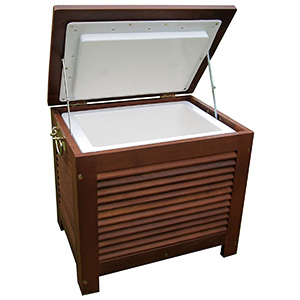Merry Garden Wooden Cooler