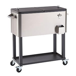 Trinity TXK-0802 Patio Cooler Cart