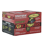 Western 24 Pack Red Hot Fire Starters - Black Friday