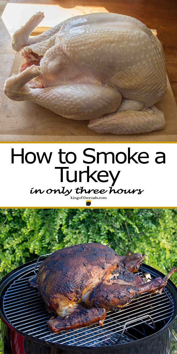 How to Smoke a Whole Turkey King of the Coals