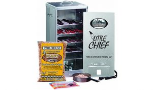 Little Chief Electric Smoker in Black