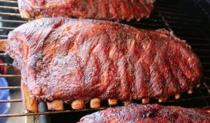 Smoked Pork Spareribs