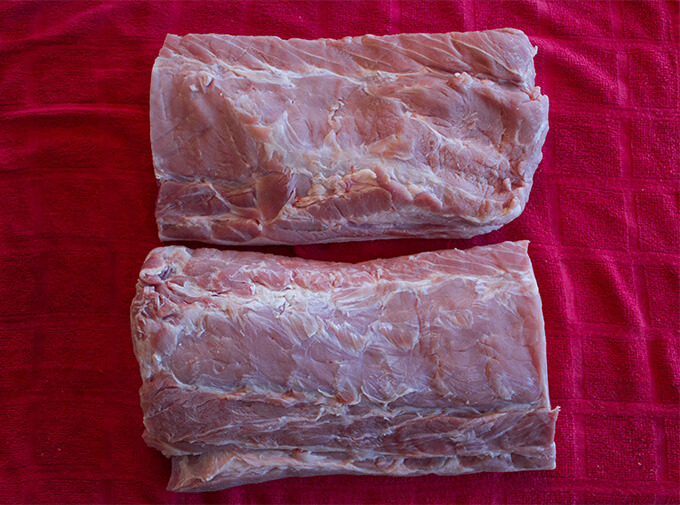 How to smoke a boneless pork loin