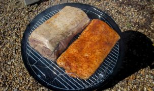 Smoked Boneless Pork Loin