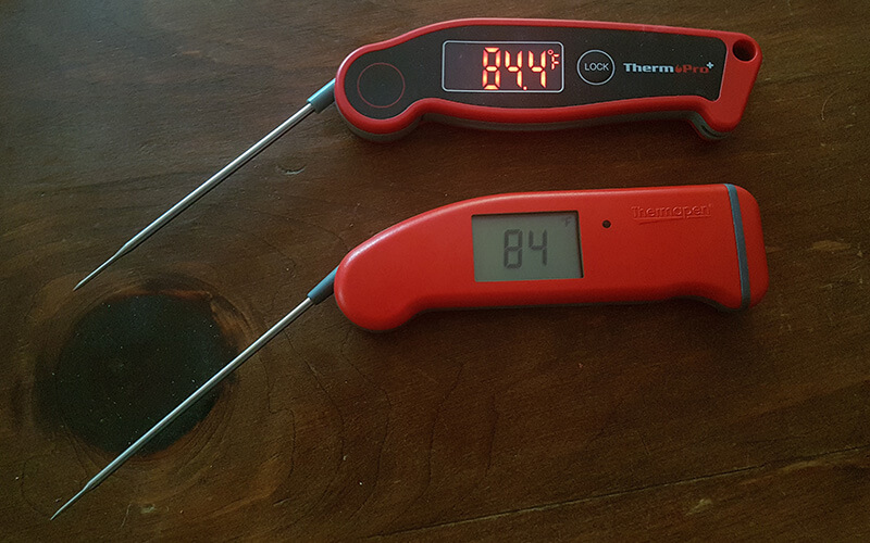 Thermopro TP-19 vs Thermapen
